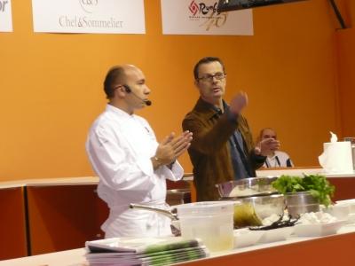 J. Pourcel et Éric Roux sur le Snacking des chefs !