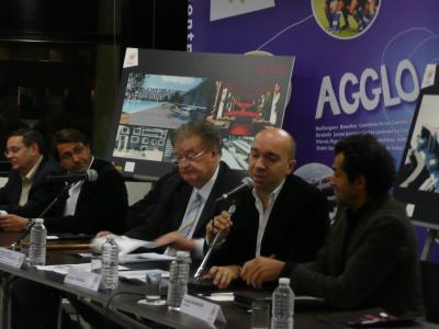 Après Jacques Pourcel, prise de parole par l'architecte Imaad Rahmouni