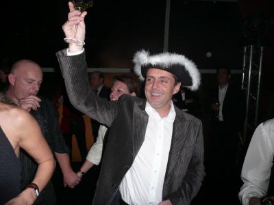 Francis Navarre, chef de cuisine quand il n'est pas Chevalier de la Table Ronde !