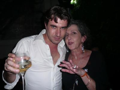 Xavier Méot et marie-Ange Chiari, les retrouvailles