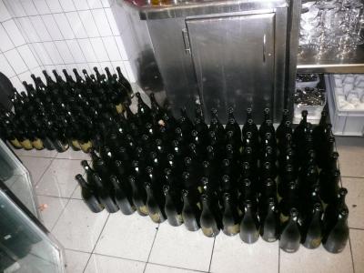 La preuve par les bouteilles vides !