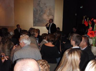 Jacques Pourcel pendant son intervention