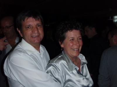 Gilles & Lisbeth Pourcel après la langouste et le foie gras !
