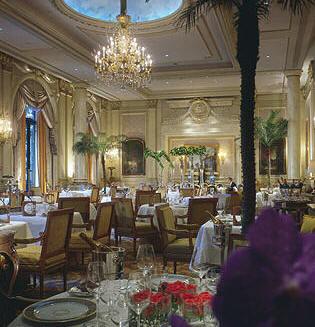 Tradition et modernité dans la salle du Georges V