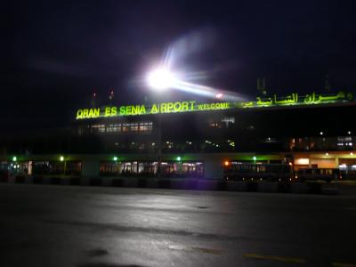Arrivée à l'aéroport d'Oran