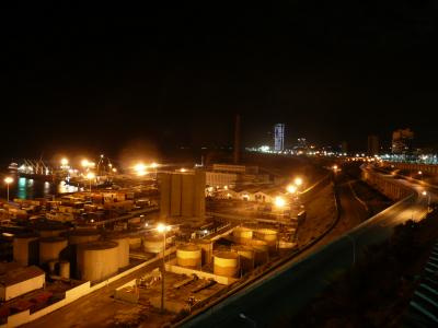 La Port de Oran, ce soir là passé minuit