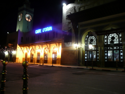 La gare de Oran, conservé dans son architecture originelle