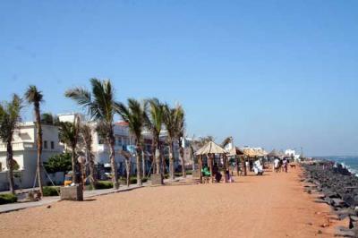La plage de Pondichéry
