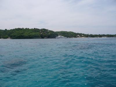 En approche de l'île de Lembaran