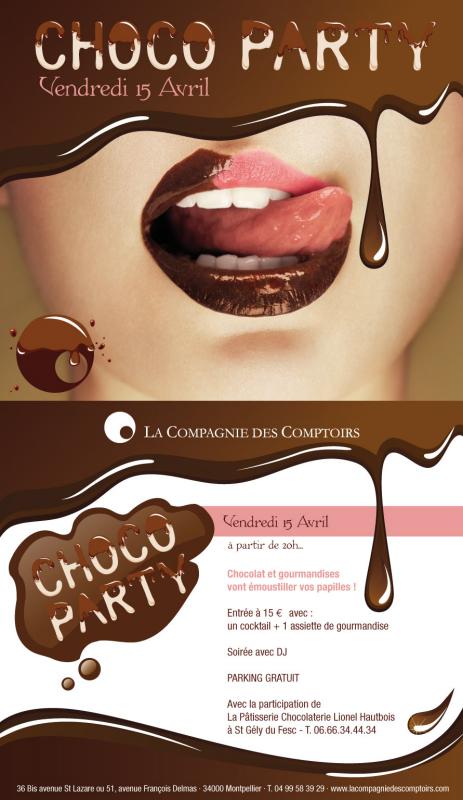 Chocolat party la compagnie des comptoirs retenez la - La compagnie des comptoirs ...