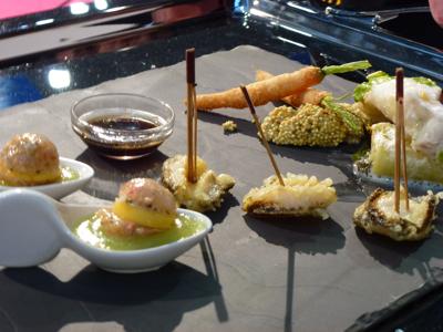 Nice les chefs en premi re ligne au neptune d or - Telematin cuisine carinne teyssandier ...