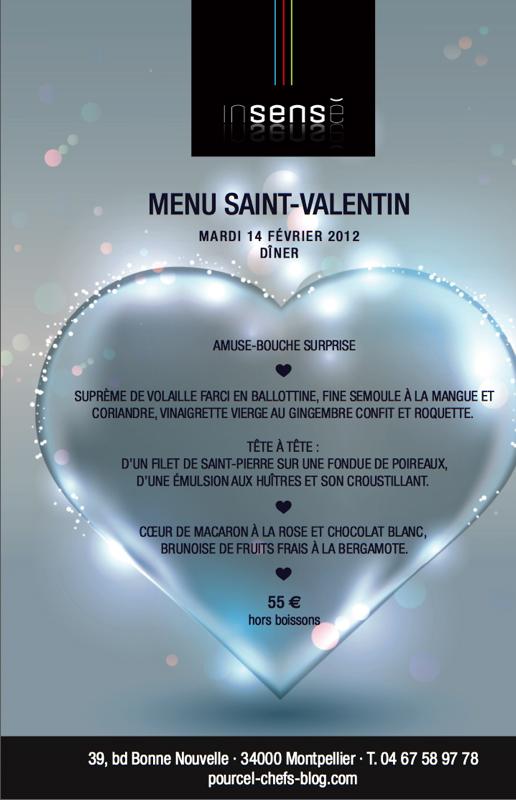 Restaurant Montpellier Saint Valentin