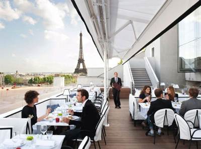 Paris m t o exceptionnelle terrasses exceptionnelles - Belle maison restaurant paris ...