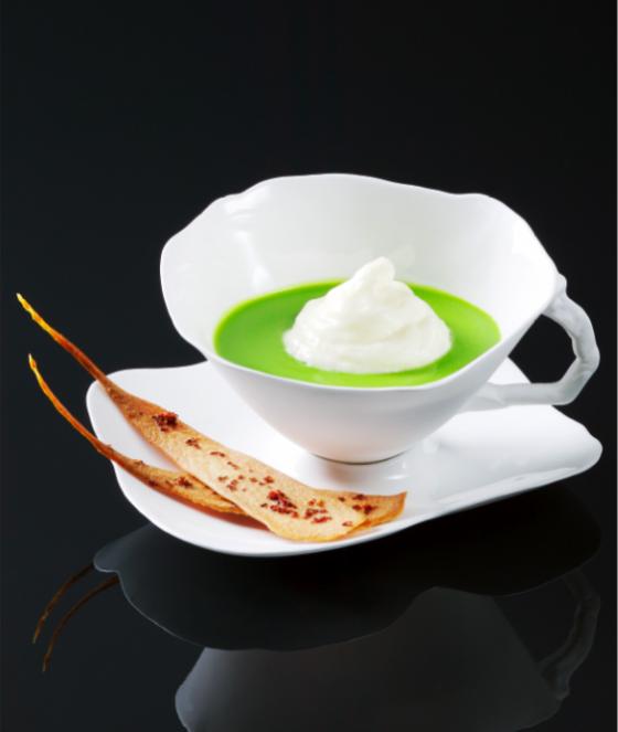 recette de la semaine soupe de petits pois chefs. Black Bedroom Furniture Sets. Home Design Ideas