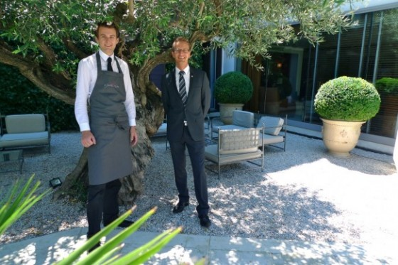 Vivre la restauration ludovic dubois manager de salle - Le jardin des sens montpellier ...