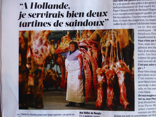 Figaro Magazine Depardieu