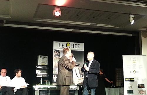 Le Chef de l'Année 2013 Georges Blanc