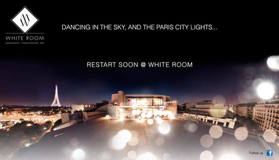 Maison Blanche Paris White Room