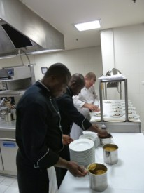 Abidjan Pourcel gastronomie