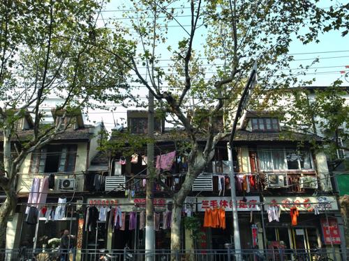 Shanghai : l\'ancienne concession française …. un petit bout ...