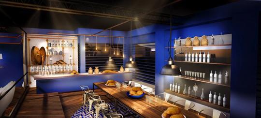 pendant le festival de cannes d couvrez la boulangerie bleue by grey goose et gontran cherrier. Black Bedroom Furniture Sets. Home Design Ideas