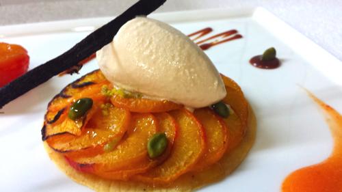 tarte aux abricots Pourcel