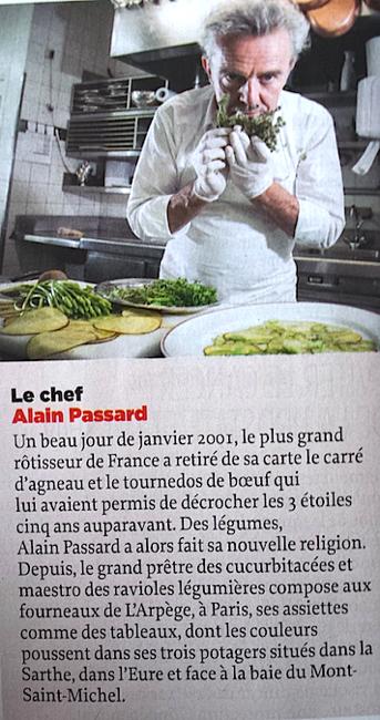 Passard Le Point