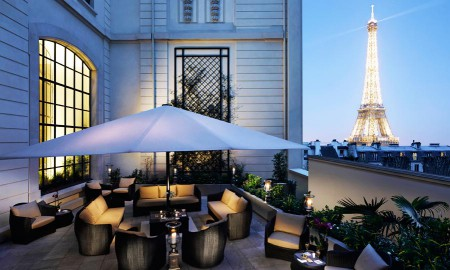 Shangri la paris entre dans la cat gorie palace le 8 for Hotel design paris spa