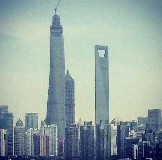Shanghai la plus haute tour d asie s ach ve chefs for Tour les plus hautes