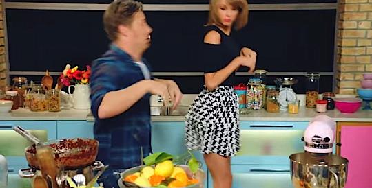 Taylor Swift et Jamie Oliver