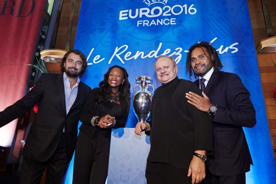 UEFA Euro 2016 France Robuchon Leconte Karembeu
