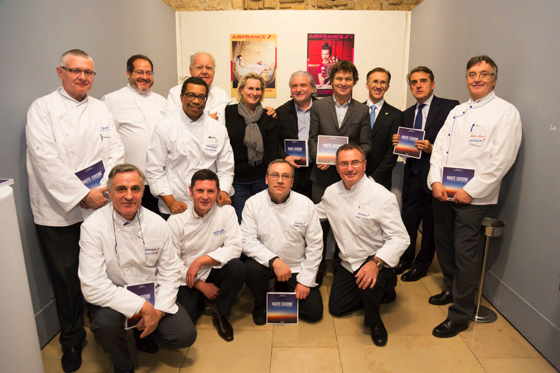 Haute cuisine les grands chefs la table d air france chefs pourcel blog - Les grands chefs de cuisine francais ...