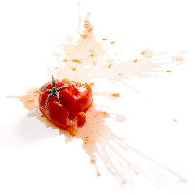 tomate éclatée