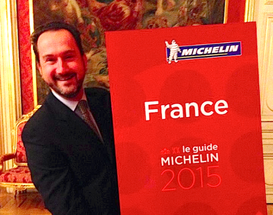 Michelin France 2015 Quai d'Orsay