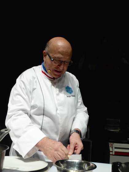 Le chef Fernando Canales du restaurant Etxanobe à Bilbao