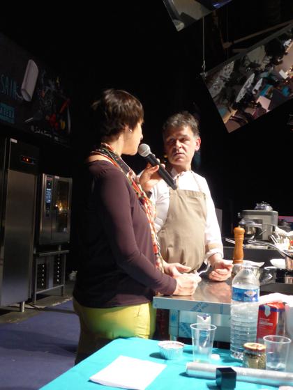 Le chef Michel Portos du restaurant Le Malthazar à Marseille