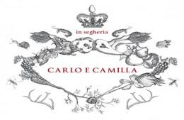 Carlo e Camilla in segheria