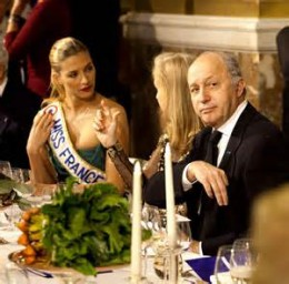 Fabius et Miss france