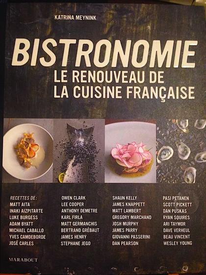 Le livre le plus con de l ann e bistronomie le - Livre de cuisine francaise en anglais ...