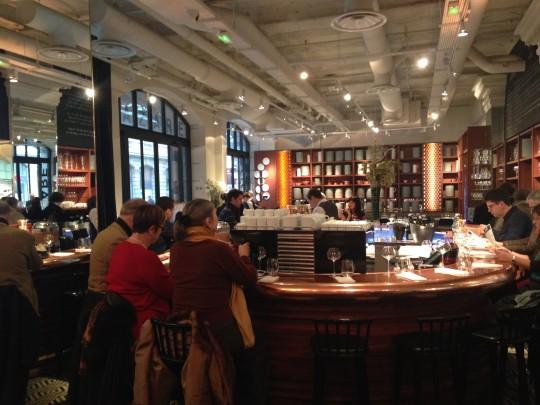 Paris la gastronomie entre en gare fr chon saint - Restaurant gare saint lazare ...