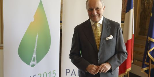 Fabius conférence climat