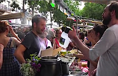 Food Market Paris