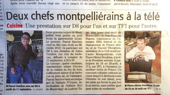 Chefs de cuisine Montpellier