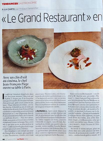 Le Point  - Le Grand Restaurant -