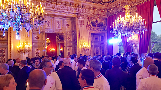 Dîner des Grands Chefs 2015 GL Events