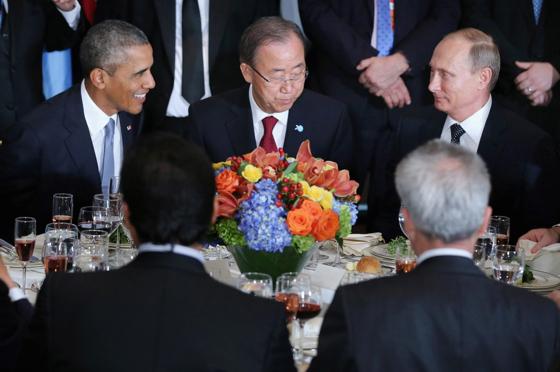 Obama Poutine ONU ban-ki-moon