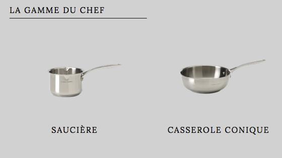 cyril lignac signe une collection d ustensiles de cuisine et cette occasion lance un d fi aux. Black Bedroom Furniture Sets. Home Design Ideas