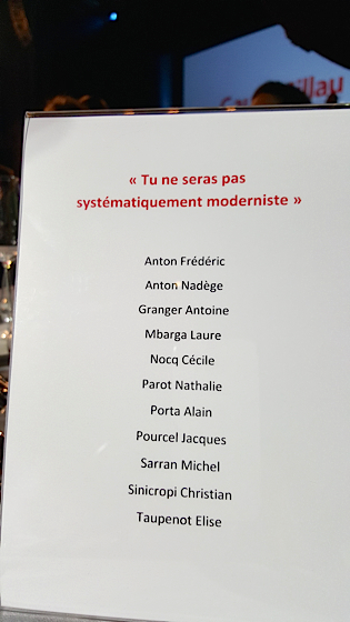 Gault Millau 2016 Paris 26 octobre 2015