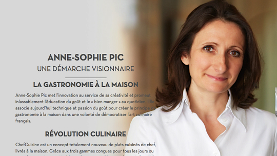 ChefCuisine Anne-Sophie Pic