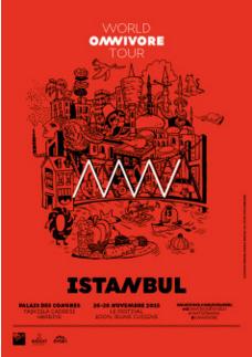 omnivore world tour Turquie